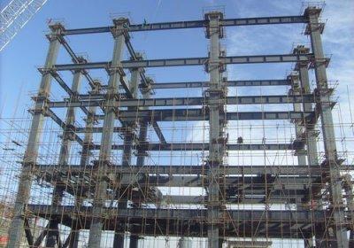 公司热解装置钢结构